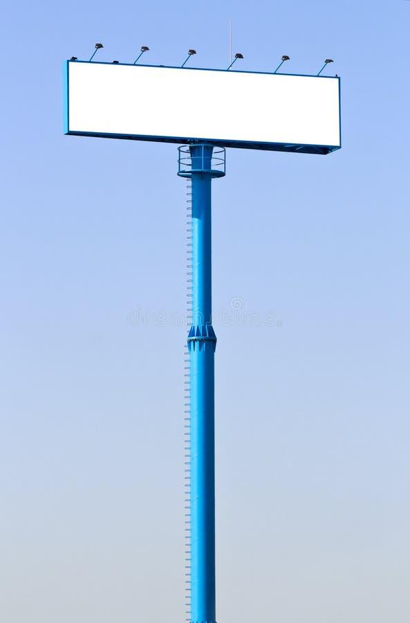 Free Big Blue Billboard In A Blue Sky Stock Photo - 19146150