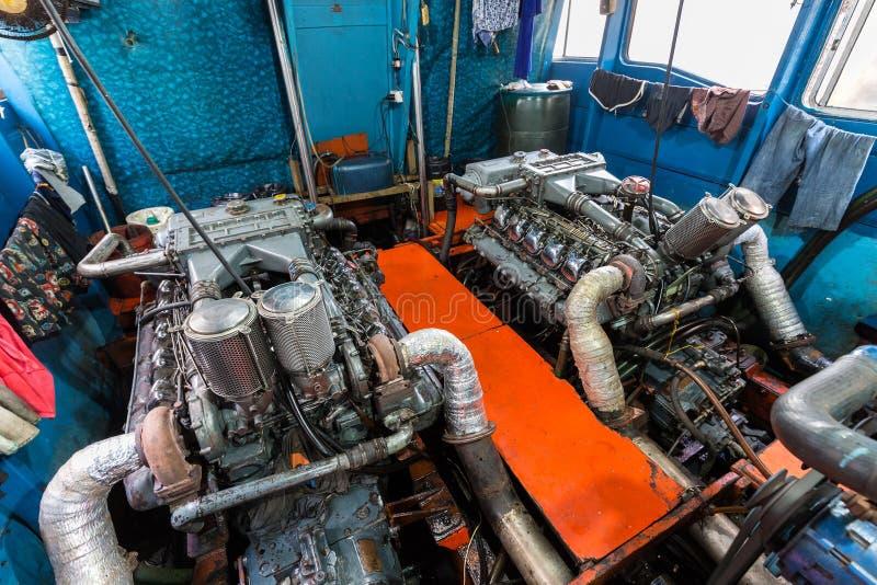 Big boat engine stock photos