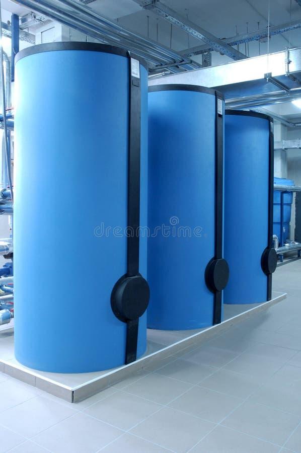 Big boilers royalty free stock photos