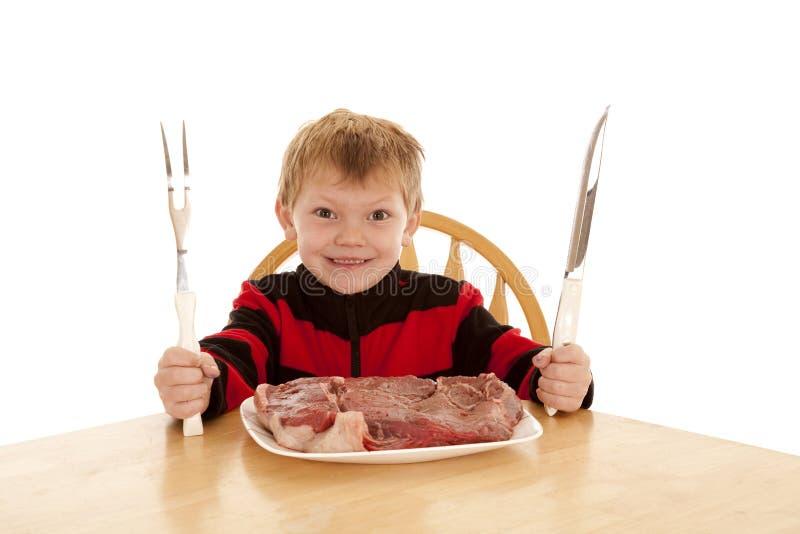 Download Big boy steak stock photo. Image of stab, ribeye, american - 20032706