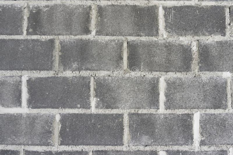 Big brick Gray wall background,Texture royalty free stock images