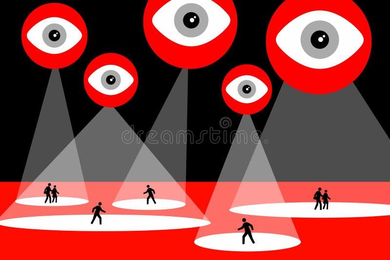 Big Brother royalty ilustracja