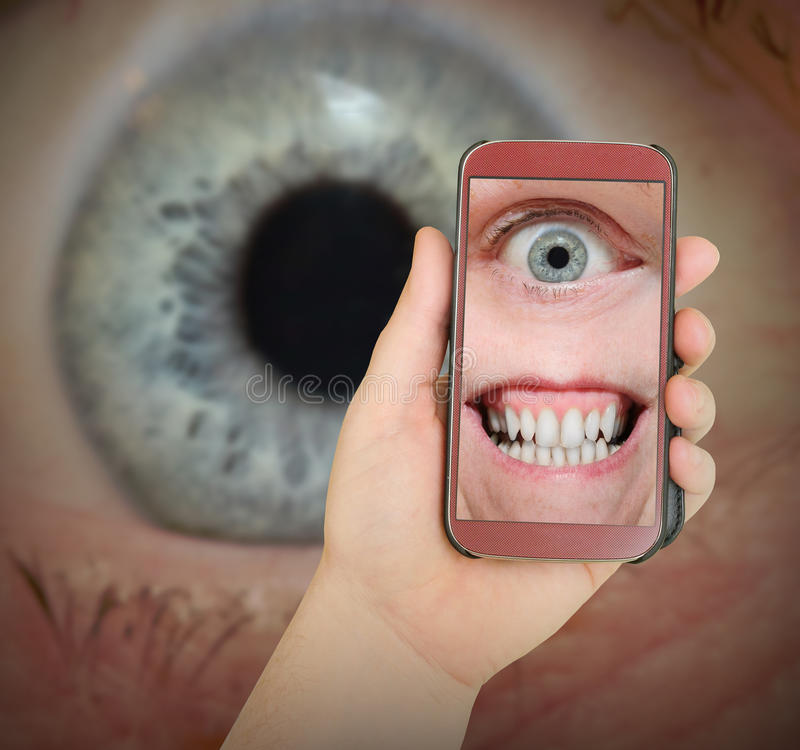 Free Big Brother Is Watching You. Royalty Free Stock Photo - 49635795