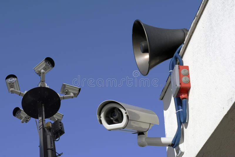 Big Brother watching stock images