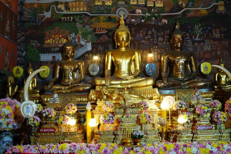 The big bubdah at pechaburi , thailand. The Old big buddah of techaburi temple ,march 2020 , thailand royalty free stock photo