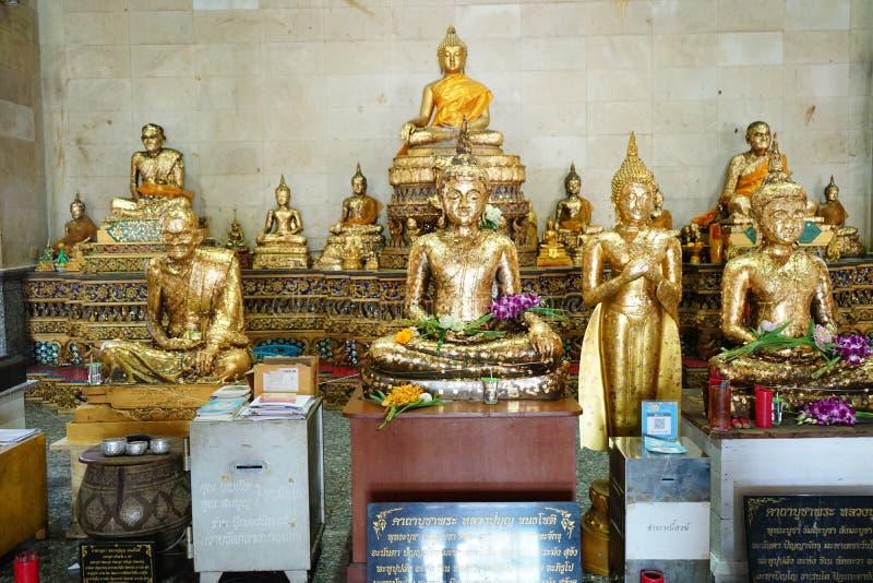 The big bubdah at pechaburi , thailand. The Old big buddah of techaburi temple ,march 2020 , thailand stock photography