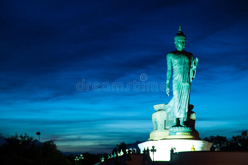 Download Big Buddha In The Evenings. Stock Image - Image of sunlight, buddhism: 34001807
