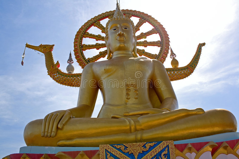 Big Buddha, Ko Samui , Thailand royalty free stock photos