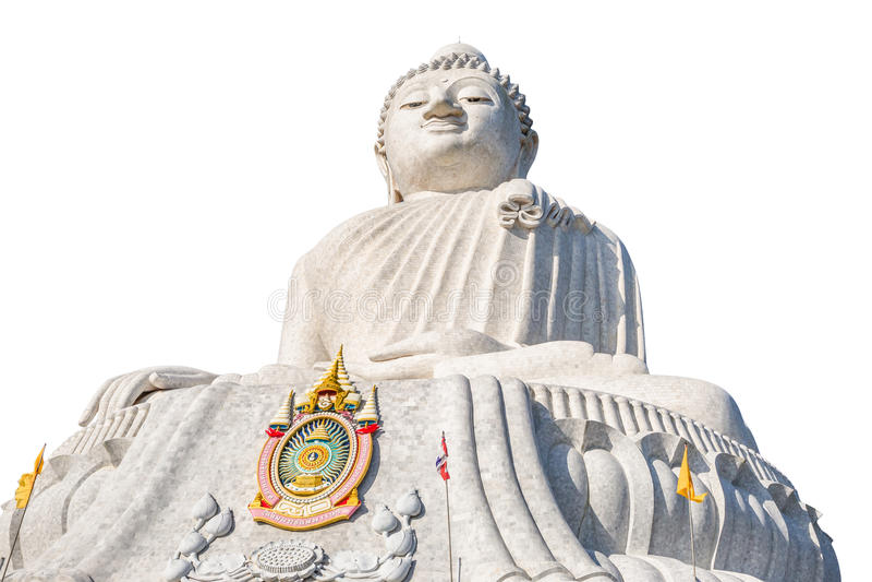 Big Buddha in Phuket stock image