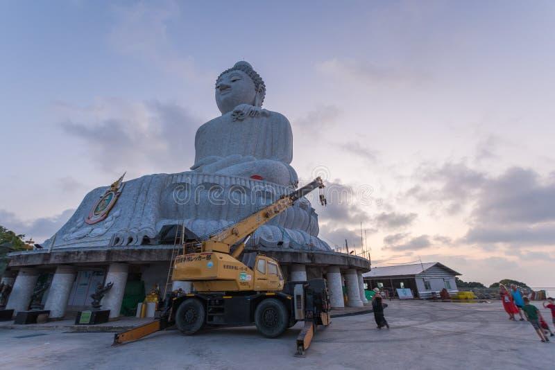 Big Buddha Statue, Pa Tong, Thailand stockfotografie
