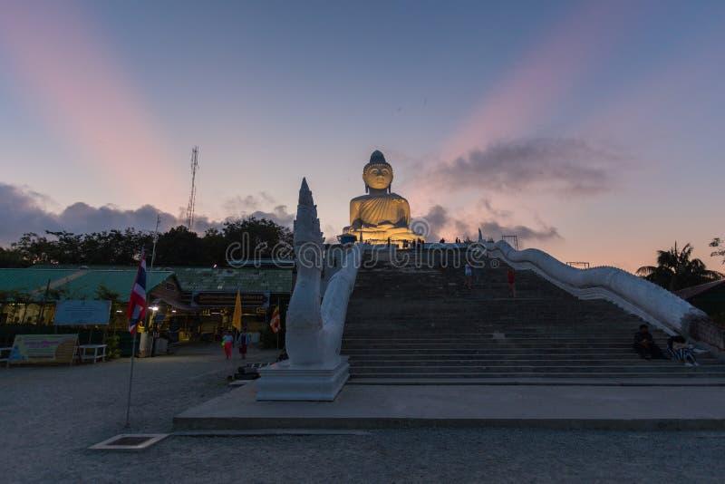 Big Buddha Statue, Pa Tong, Thailand lizenzfreies stockbild