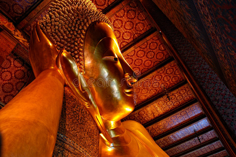 Download Big Buddha in Wat Pho stock photo. Image of royal, journey - 25538546