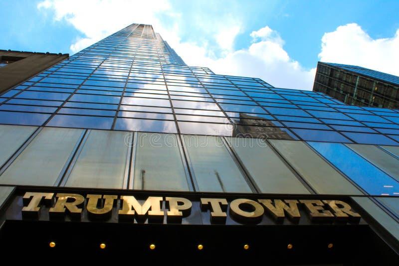 Big Builder in New York stock image