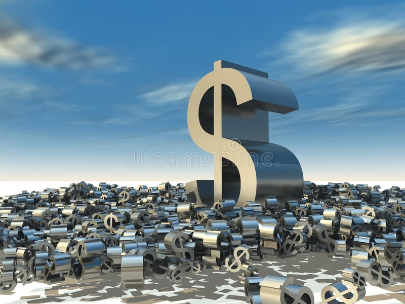 Download Big Business stock illustration. Image of dollar, power - 2970221