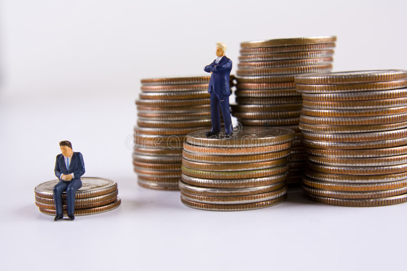 Download Big Business Vs. Small Business Stock Image - Image: 7973311
