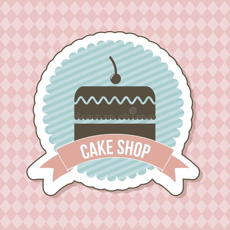 Download Big cake stock vector. Illustration of filling, baking - 30333897