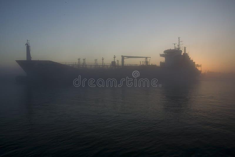 Download Big Cargo Ship stock photo. Image of vessel, river, steamer - 5966152