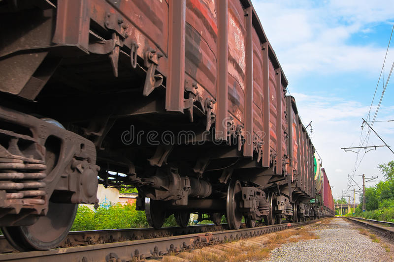 Big cargo transportation royalty free stock photography