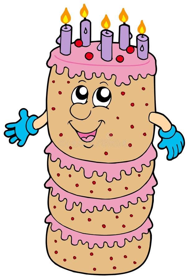 Download Big Cartoon Cake Stock Image - Image: 10575831