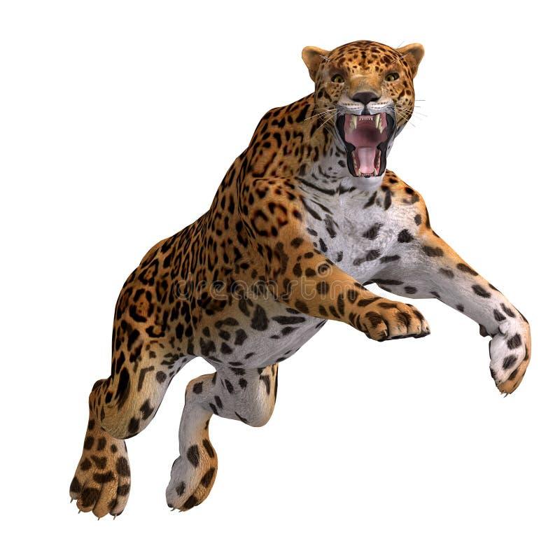 Download Big Cat Jaguar stock illustration. Image of over, engage - 9190362