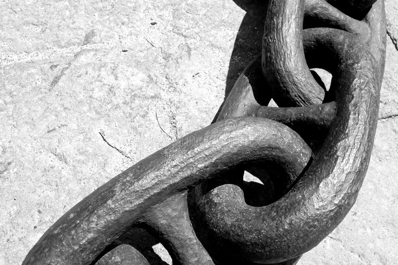 A Big chain royalty free stock photos