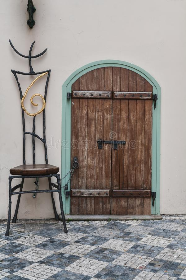 Download Big chair stock image. Image of doorway, cathedral, house - 33188041
