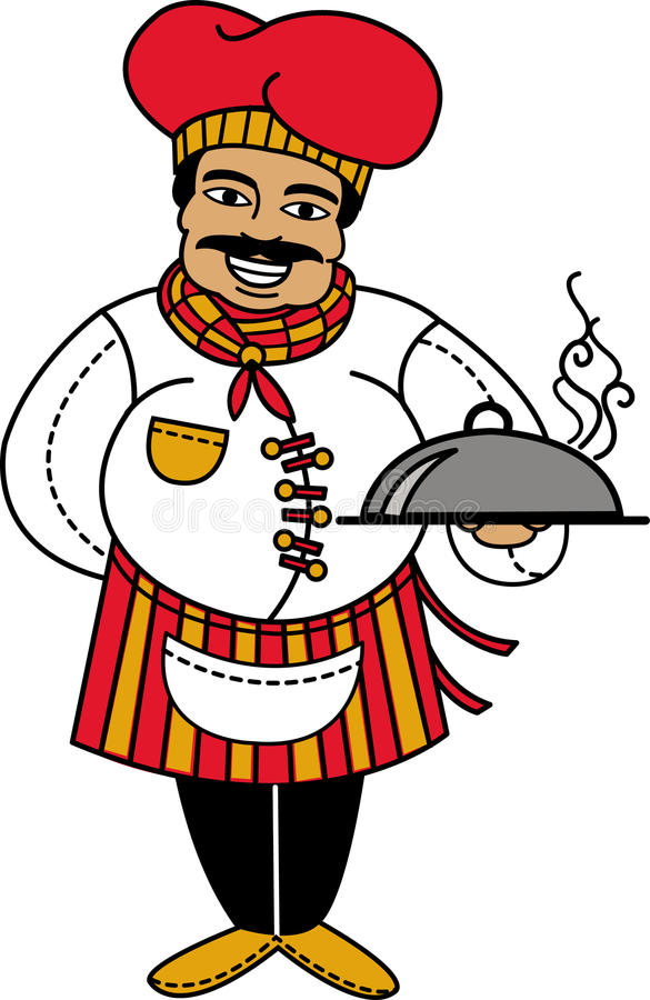 Big Chef! stock images