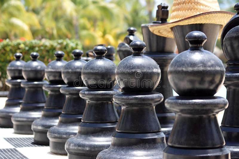 Download Big Chess For Game On A Beach Stock Image - Image of beaches, games: 31778823