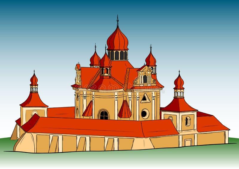 Download Big church stock vector. Illustration of historic, architecture - 22075515