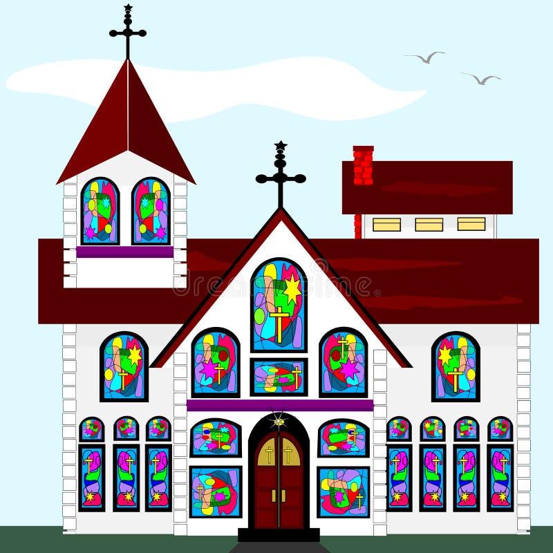 Free Big Church Royalty Free Stock Image - 28334826
