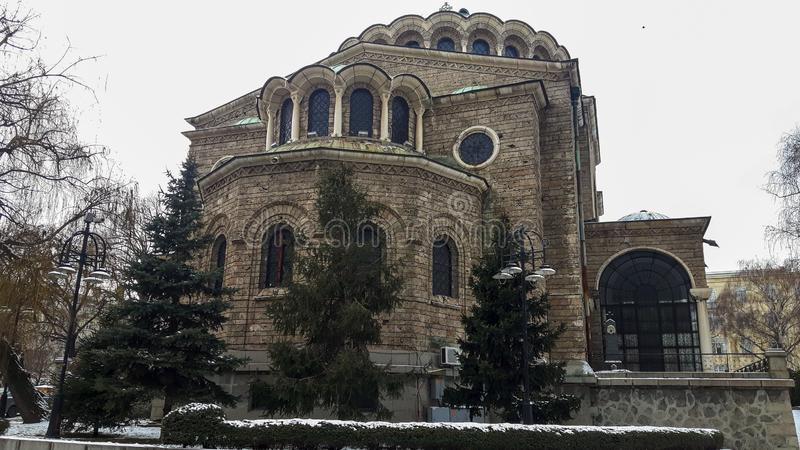 A big church in Sofia. royalty free stock images