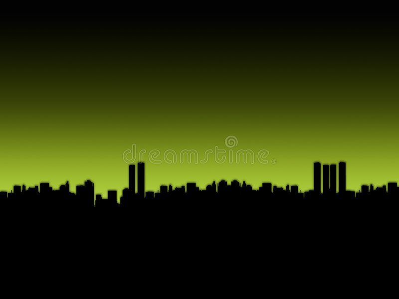 Download Big City stock illustration. Image of scenery, background - 2307142