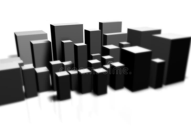 Big City stock illustration