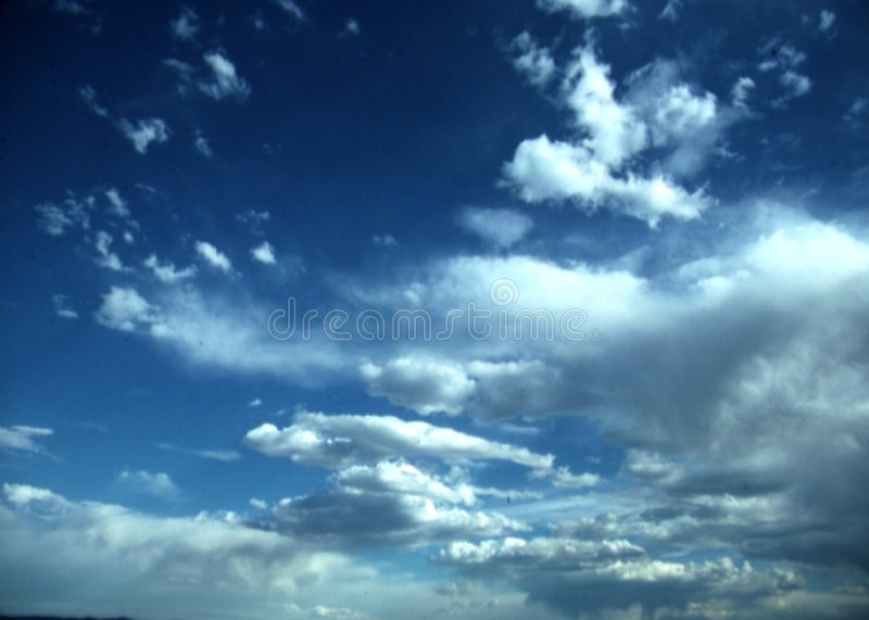 Download Big clouds and blue sky stock image. Image of white, saturated - 5913501