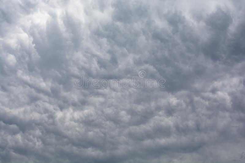 Big clouds storm white and black abstract background. Close up royalty free stock photo