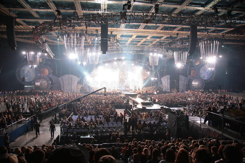 Big concert 2 royalty free stock photography