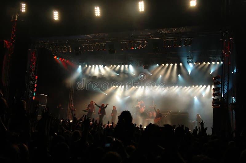 Download Big concert stock photo. Image of fallenangel, musicians - 653168