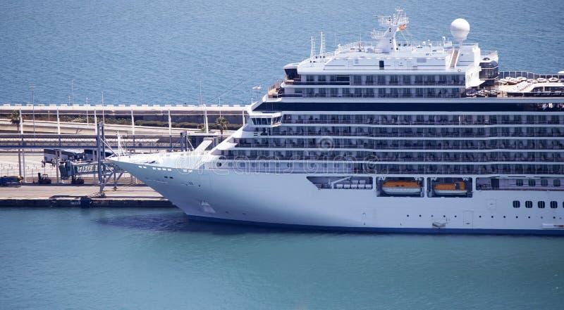 A big cruise ship stock photography