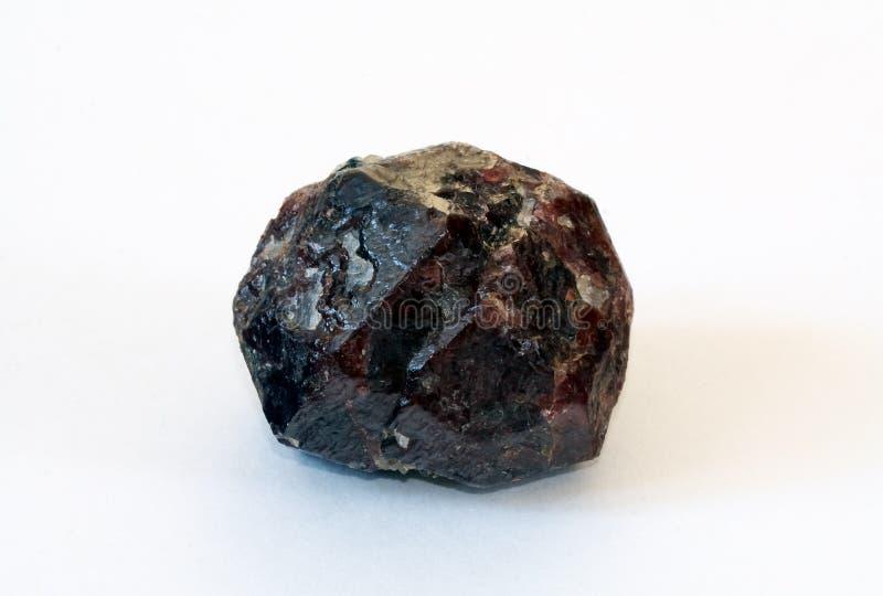Big Crystal Of Garnet-almandine Stock Photo