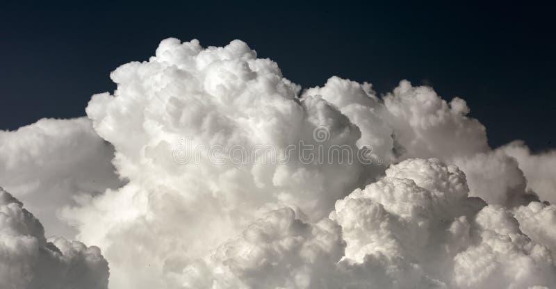 Big cumulonimbus clouds royalty free stock image