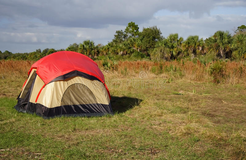 Big Cypress Camping royalty free stock image