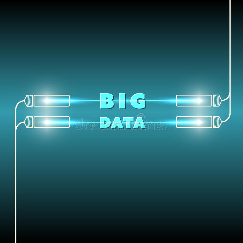 Big data stock illustration