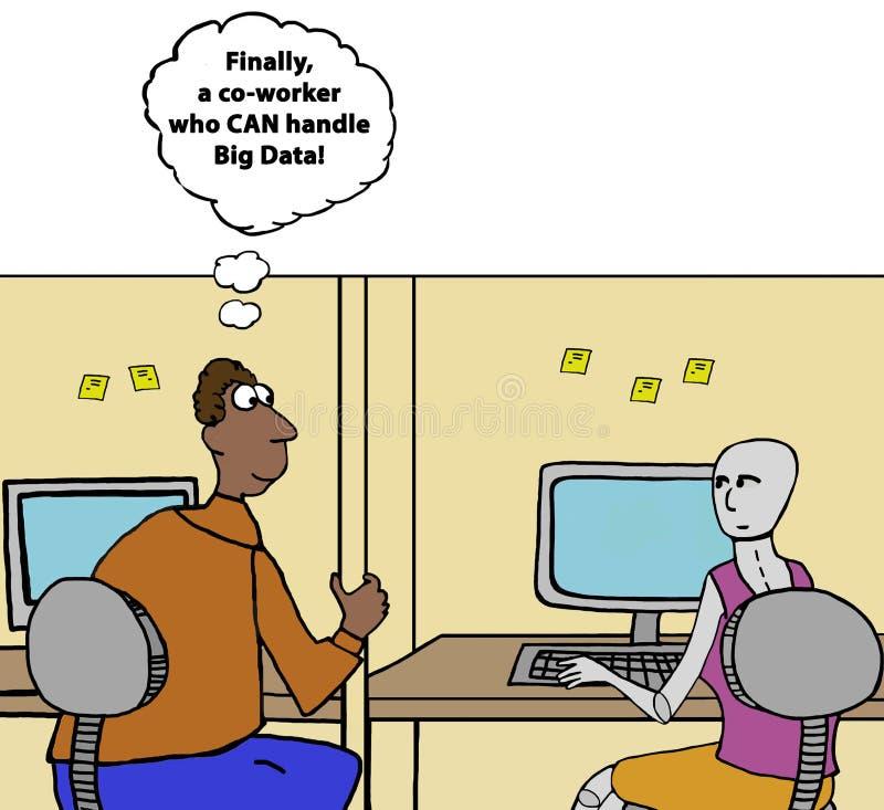 Big Data vector illustration