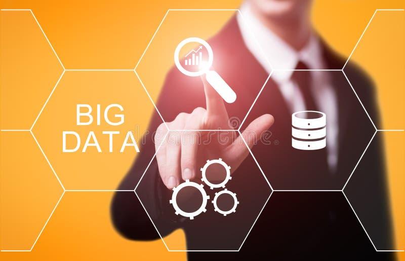 Big Data Internet Information Technology Business Information Concept stock photo
