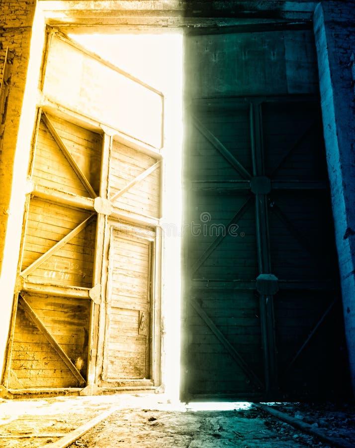 Free Big Depot Doors Stock Photography - 23975652