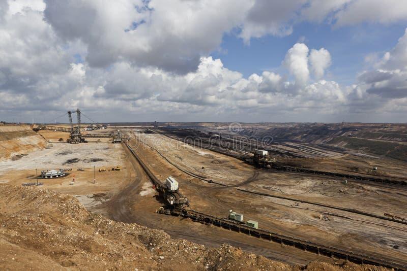 Big Digger In Open-cast Coal Mine Editorial Image