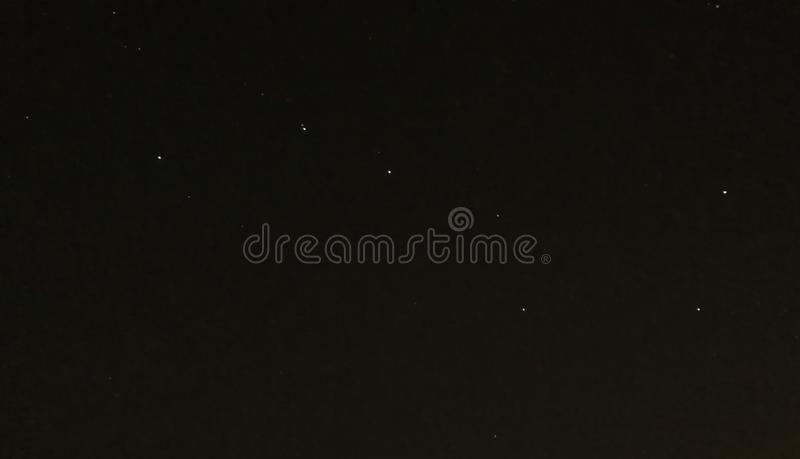 Big dipper in a clear night stock photos
