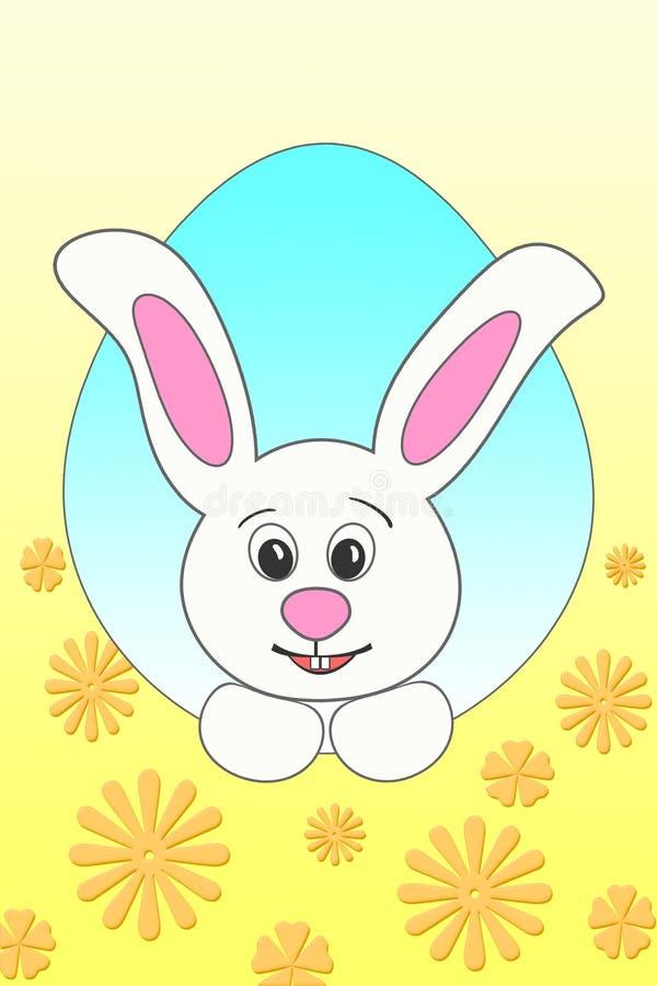 big Easter Bunny stock illustration