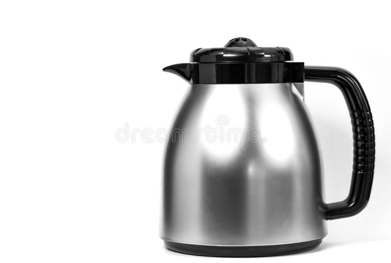 Electric kettle isolated on white background. Big Electric kettle isolated on white background royalty free stock photography