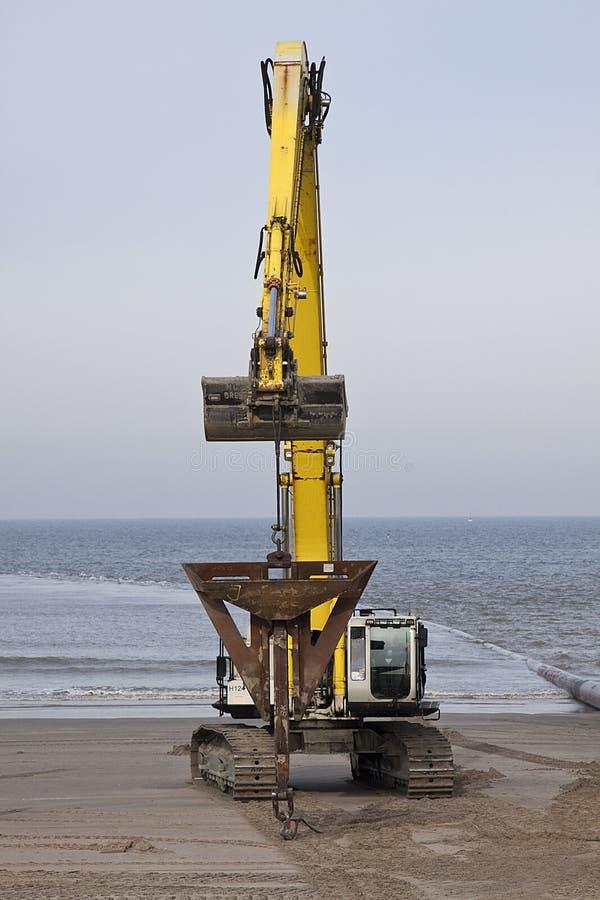 Download Big excavator stock image. Image of bulldozer, coast - 13045195